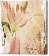 Old Greating Card Canvas Print