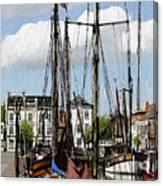 Old Harbor Canvas Print