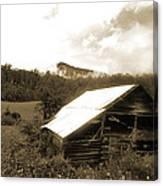 Old Hay Barn Canvas Print
