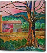 Old Herschel Farm Canvas Print