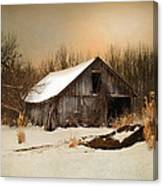 Old Homestead Barn Canvas Print