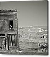 Old House In Bodie Canvas Print