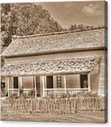 Old House In The Cove Canvas Print