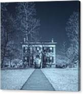 Old  House Infrared Canvas Print