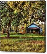 Old House On 98 Canvas Print