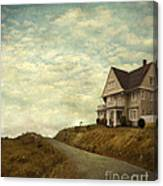 Old House On Rural Road Canvas Print
