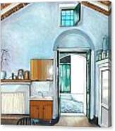 Old House Pisticci Canvas Print