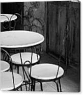 Old Ice Cream Parlor Canvas Print