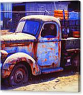 Old Junk Truck Canvas Print