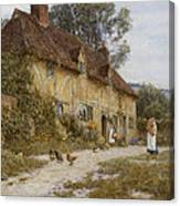 Old Kentish Cottage Canvas Print