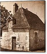 Old Kitchen House Canvas Print