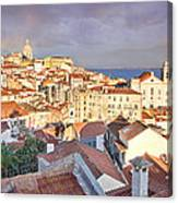 Old Lisboa Canvas Print