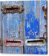 Old Mailboxes Canvas Print