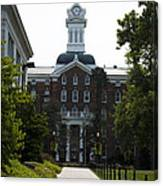 Old Main - Kutztown College Canvas Print