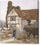 Old Manor House Canvas Print