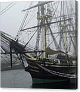 Old Massachusetts Sailing Ship Canvas Print