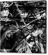 Old Mechanism  Canvas Print