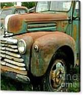 Old Mercury Truck Canvas Print