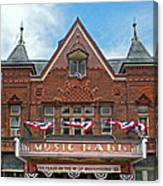 Old Music Hall Tarrytown New York Canvas Print
