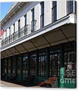 Old Pacific Hotel . San Jose California . 7d13019 Canvas Print