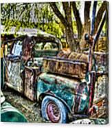 Old Pickup Canvas Print