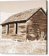 Old Ranch Hand Cabin Ll Canvas Print