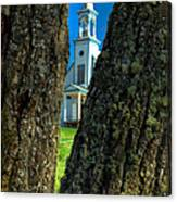 Old Reserve Church Canvas Print