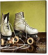 Old Roller-skates Canvas Print