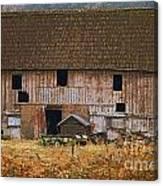 Old Rosedale Barn Canvas Print