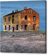 Old Ruined House Canvas Print