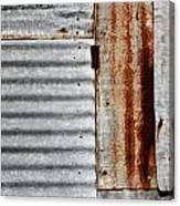 Old Rusty Sheet Metal Canvas Print