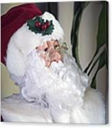 Old Santa Claus Canvas Print