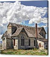 Old Schoolhouse - Ovid - Idaho Canvas Print