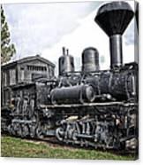 Old Shay Locomotive Canvas Print