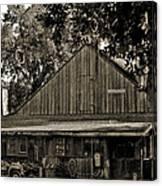 Old Spanish Sugar Mill Old Photo Canvas Print