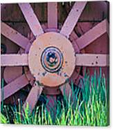 Old Spokes Canvas Print