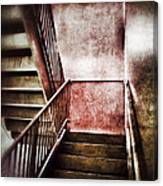 Old Stairwell Canvas Print