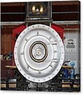 Old Steam Locomotive Engine 5 . The Little Buttercup . 7d12920 Canvas Print