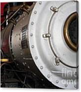 Old Steam Locomotive Engine 5 . The Little Buttercup . 7d12921 Canvas Print