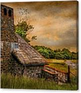 Old Stone Countryside Canvas Print