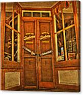Old Store Front Canvas Print