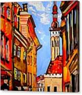 Old Tallinn Canvas Print