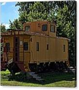 Old Time Caboose Canvas Print