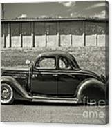 Old Time Class Canvas Print