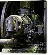 Old Time Equipment Canvas Print