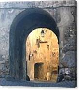 Old town gate 1 Canvas Print