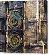 Old Town Hall Clock Canvas Print