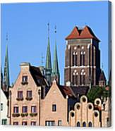 Old Town In Gdansk Canvas Print