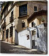 Old Town In Ronda Canvas Print