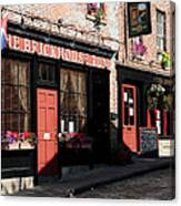 Old Towne Dining Canvas Print